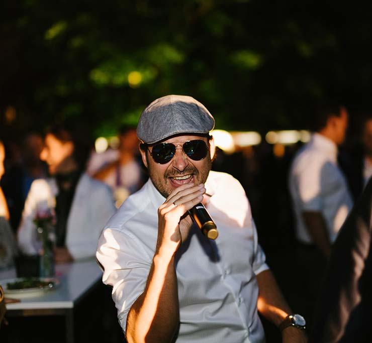 Interview mit einem Hochzeitsprofi: Entertainer King-Grace